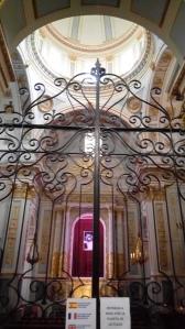 Interior de la Capilla del Santísimo Cristo.