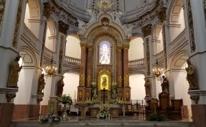 Prebiterio de la iglesia de Nuestra Señora del Consuelo