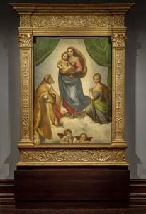 La Madonna Sixtina de Rafael