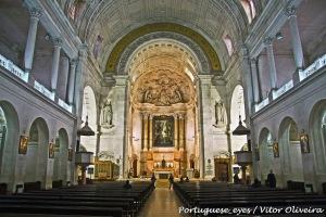 Interior Basílica de Nuestra Señora del Rosario