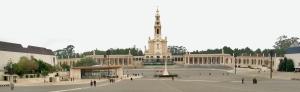 Panorámica del Santuario de Fátima