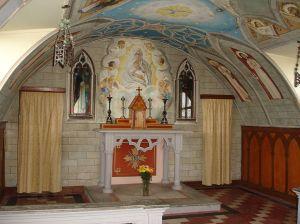 Altar de La Capilla Italiana