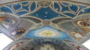 Frescos del techo de La Capilla Italiana