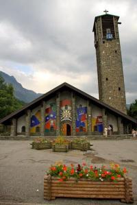 Exterior del templo de Nuestra Señora de Gracia