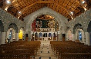 Interior del templo de Nuestra Señora de Gracia