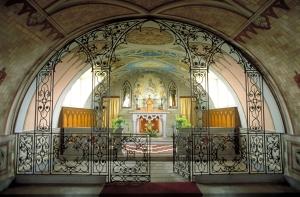 Interior de La Capilla Italiana