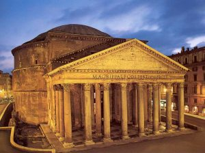 Exterior del Panteón de Roma