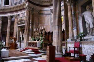 Presbiterio Panteón Roma