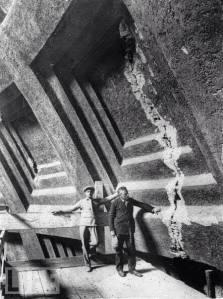 Los casetones de la cupula del Panteon en1920