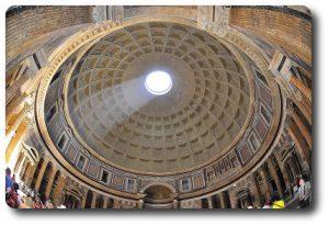 Interior cúpula del Panteón