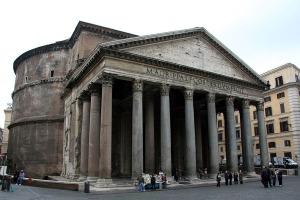 Pórtico del Panteón de Roma