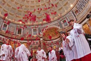Pentecostés en el Panteón de Roma