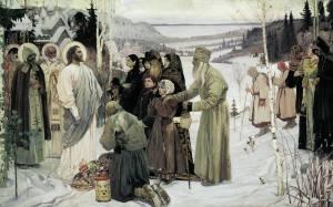La Santa Rusia Mijail Nesterov
