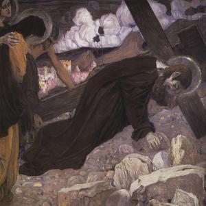 Crucifixion-1912 Mijail Nesterov