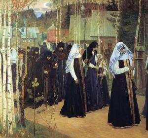 Tomando el velo (1898/99)