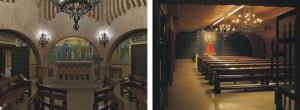 Capillas Sagrada Familia y Virgen del Pilar en Torreciudad