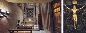 Capilla del Santísimo del Santuario de Torreciudad yCrucifijo de Sciancalepore