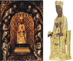 Camarín y Talla Nuestra Señora Torreciudad