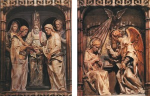 Los desposorios y La Anunciación Torreciudad