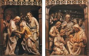 La Visitación y la Adoración de los pastores Torreciudad
