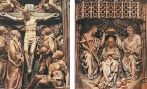 Crucifixión y Coronación de la Virgen Torreciudad